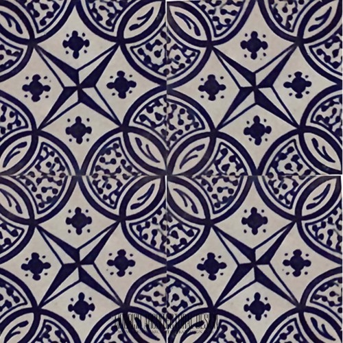 Blue Mexican Tile