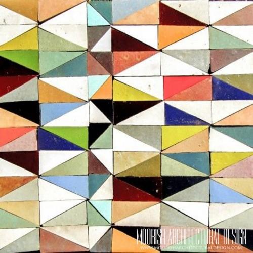 Moroccan multicolor Tile