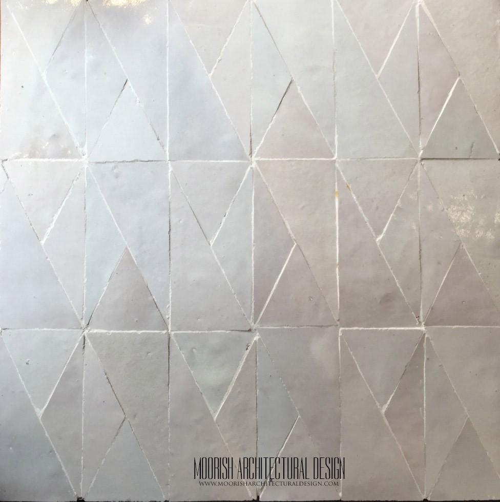 White Zellige: Flooring & Wall Tile, Kitchen & Bath Tile