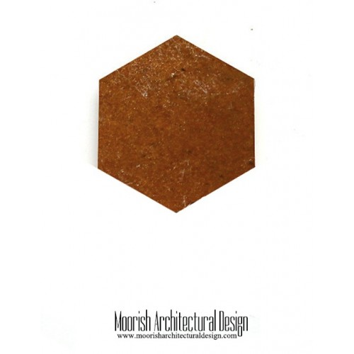 Brown Zellige Hex Tile