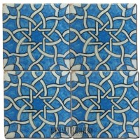Tunisian  moroccan tiles  hand painted tiles