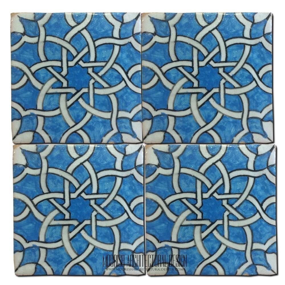 Locking ceramic tile