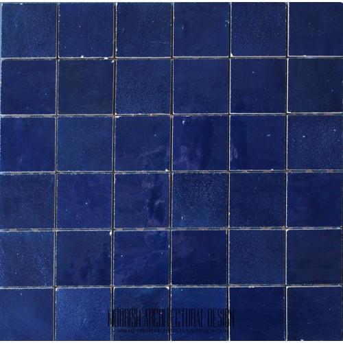 Navy Blue Moroccan Tile