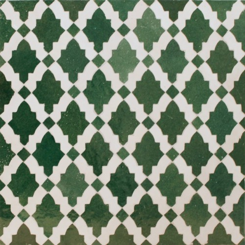 Green Moroccan Mosaic Tile