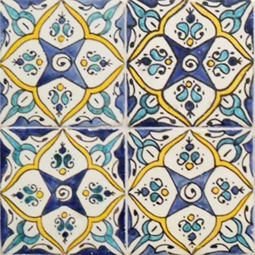 Hand Painted Tiles Los Angeles California