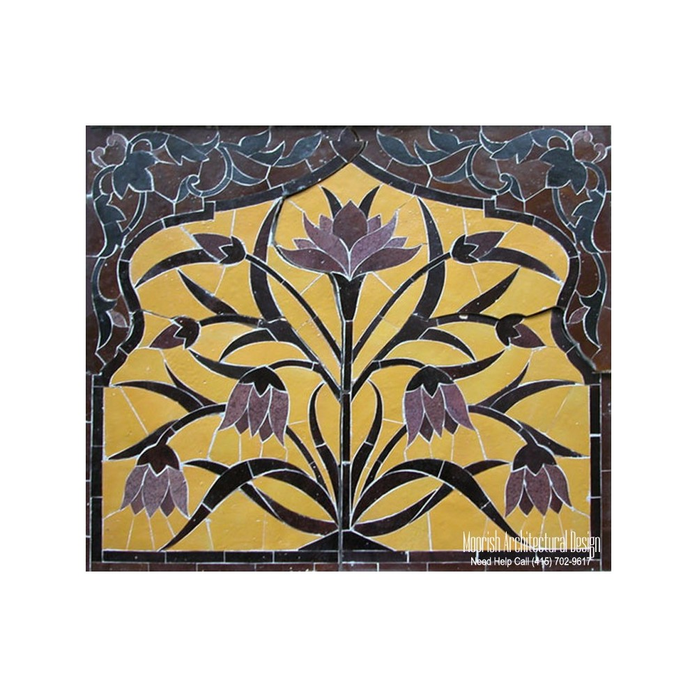 Moroccan backsplash tiles