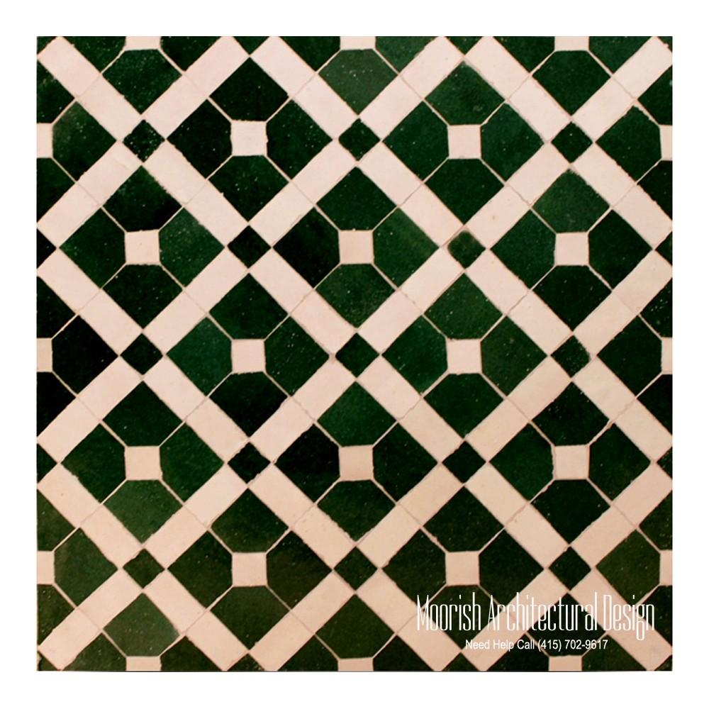 Moroccan Tile Factory Zellige Tile Zillij