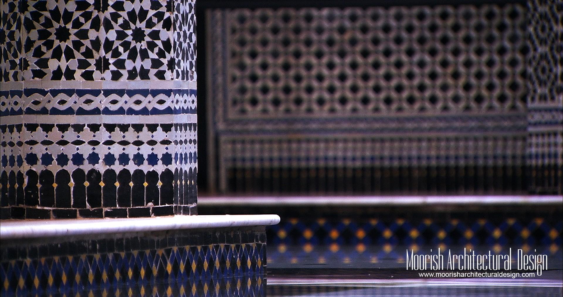 Original Moroccan Mosaic Tiles