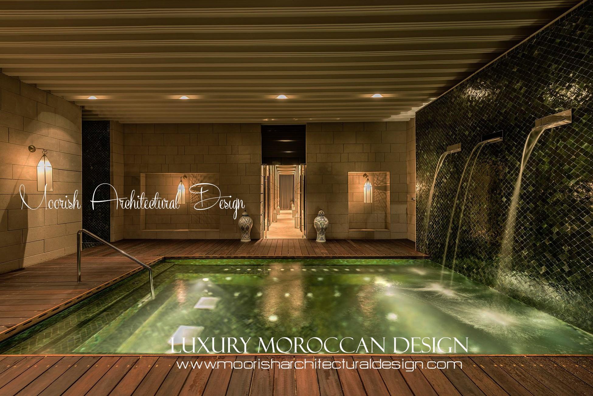 Moroccan Pool Tile Design Ideas