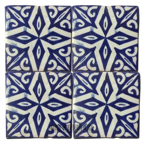 Moorish kitchen wall tile design ideas