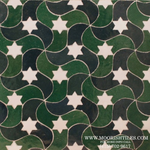 Moroccan Jewish Tile