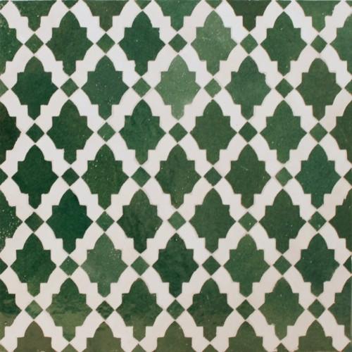 Green Moroccan Mosaic Tile