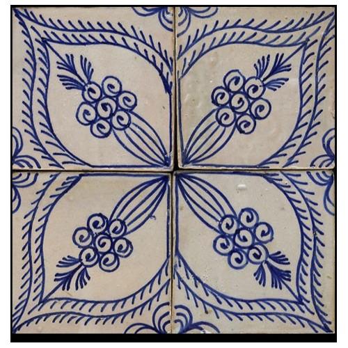 Blue Moroccan Tile Phoenix Arizona