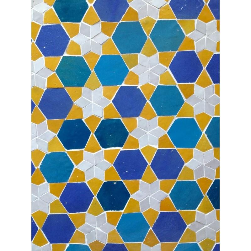 Moorish pool tiles