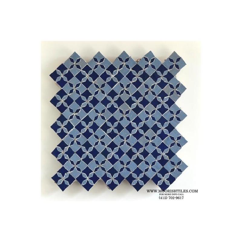 Moroccan fountain tile
